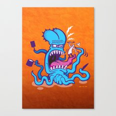 Extreme Cooking Canvas Print