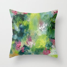 Searching for Serenity  Throw Pillow