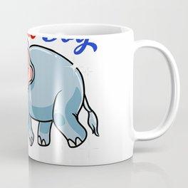 Autism Mom Shirt Autism Awareness Elephant Shirt Cute Gift T-Shirt Coffee Mug