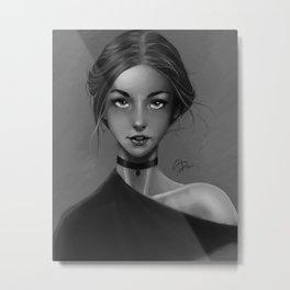Portrait Study Metal Print