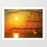 Art Print featuring Free to Dream by simbolique