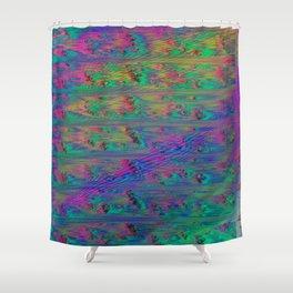 MeltingPlanet Shower Curtain