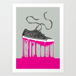 Weightless Living Art Print