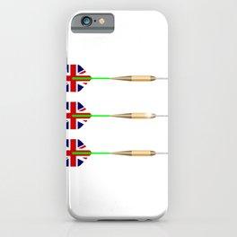 UK Darts iPhone Case