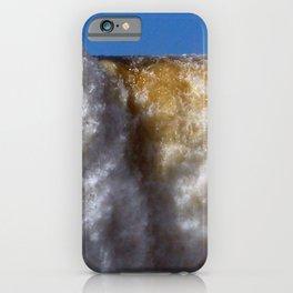 Iguazu Iguassu Waterfall Detail Scenery, Brazil Argentina iPhone Case