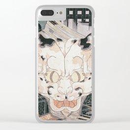 Utagawa Kuniyoshi - Cats Fifty Three Stations Of Tokaido Clear iPhone Case