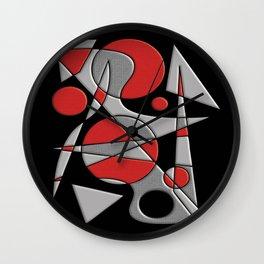 Abstract #284 Paladin Wall Clock