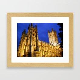 Canterbury Cathedral, Canterbury England Framed Art Print