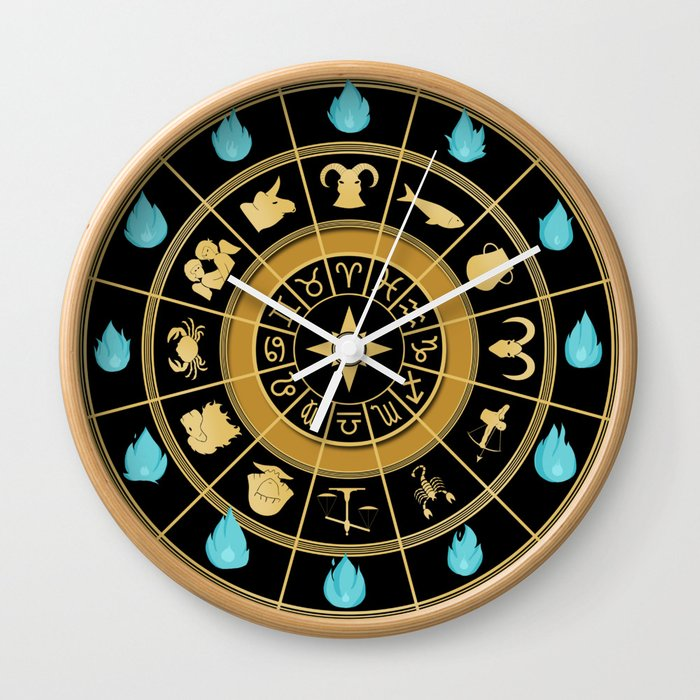 Saint Seiya Clock Wall Clock By Pulsie Society6