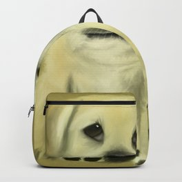 Chubby Puppy with Doleful Eyes Backpack