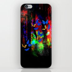 butterfly forest iPhone & iPod Skin