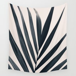Gray Palm #3 Wall Tapestry