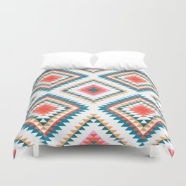 Aztec Rug 2 Duvet Cover
