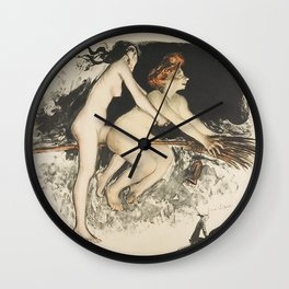 WITCHES - JEAN VEBER  Wall Clock