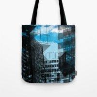 urban Tote Bags featuring Urban by Marian - Claudiu Bortan
