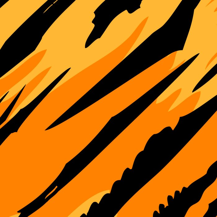Tiger skin Leggings