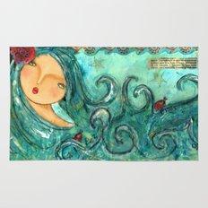Isabella The Sea Mermaid Rug