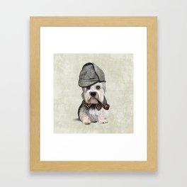 Sir Dandie Dinmont Terrier Framed Art Print