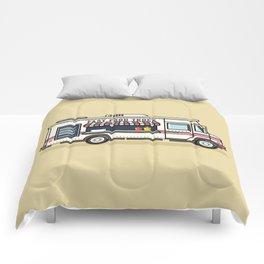Fast Food Truck Comforters