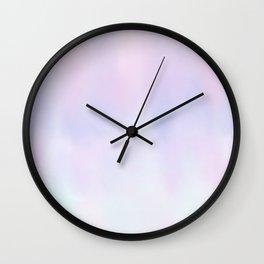 Pastel Vibes Wall Clock