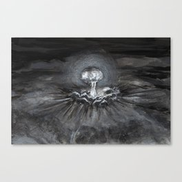 Twin Peaks - The birth of all evil Canvas Print