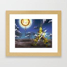 dragon ball Framed Art Print