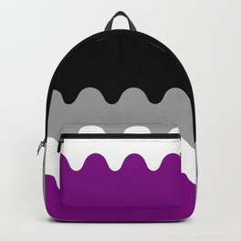 Wavy Asexual Flag Backpack