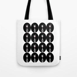 Double of Klara in black Tote Bag