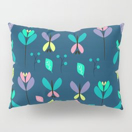 Floral night Pillow Sham