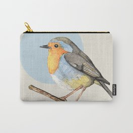 Cute Robin Carry-All Pouch