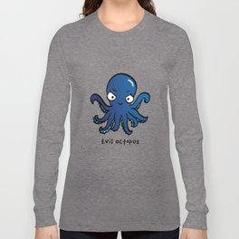 Evil Octopus Long Sleeve T-shirt