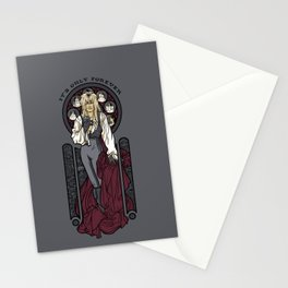 It's not long at all.... Stationery Cards