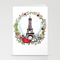cooking Stationery Cards featuring French Cooking by Grace Anderson