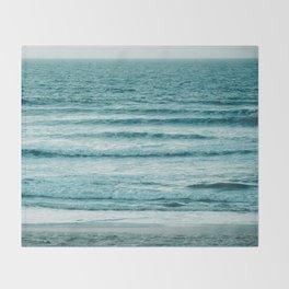 Ocean Ripples Throw Blanket
