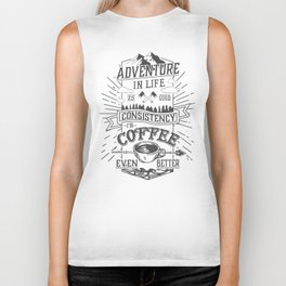 Coffee Biker Tank