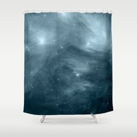 nebula Shower Curtains featuring NeBula by 2sweet4words Designs