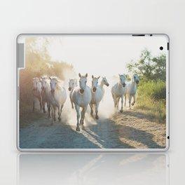 Camargue Horses XIII Laptop & iPad Skin
