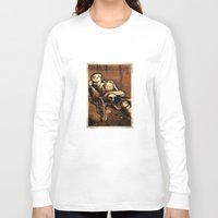 denmark Long Sleeve T-shirts featuring Hamlet Prince of Denmark by Immortal Longings