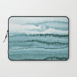 WITHIN THE TIDES - OCEAN TEAL Laptop Sleeve