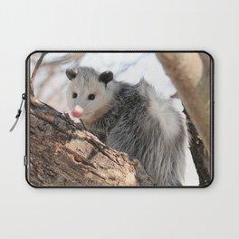 North American Opossum in Winter Laptop Sleeve