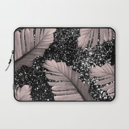 Banana Leaves Glitter Glam #4 #shiny #tropical #decor #art #society6 Laptop Sleeve