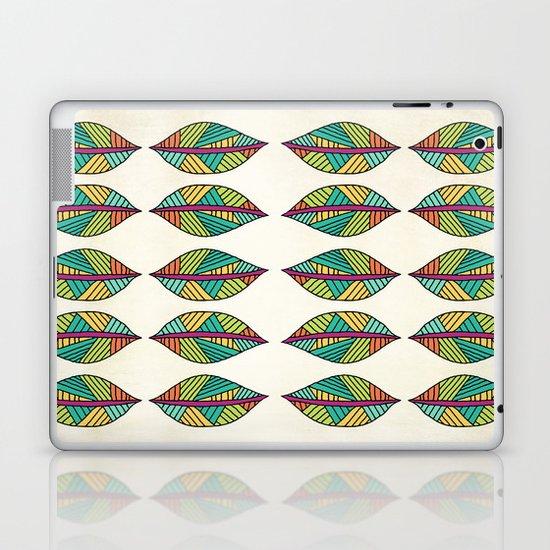 Native Leaves Laptop & iPad Skin