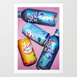 Soda pop art! #2 Art Print