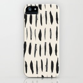 Three / Cream iPhone Case