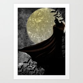 Guardian of the Knight  Art Print
