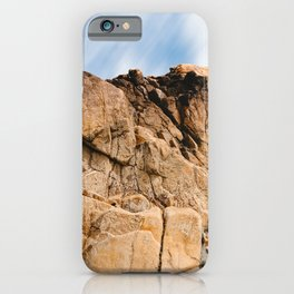 Rocky Landscape  in the coast of Brittany iPhone Case