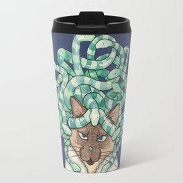 Medusa Cat Travel Mug