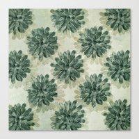 succulents Canvas Prints featuring Succulents by Sandra Arduini