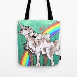 Unicorn Horn Tote Bag