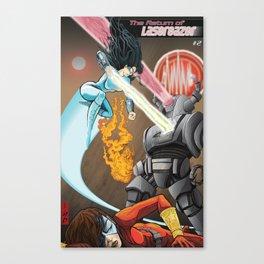 SuperHeros SF Canvas Print